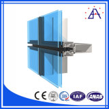 Frame da parede de cortina da liga de alumínio