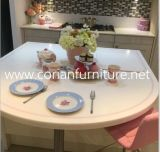 Acrylique Solid Surface Round Table Top