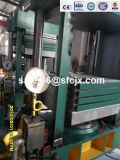 Prensa de caucho de goma caliente, Prensa de curado de goma 100ton, Vulcanizador de goma (XlB-600X600X4)