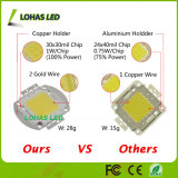 3V-12V 30-34V High Power 10W 20W 30W 50W 100W Quente Branco Frio Branco RGB LED COB Chip
