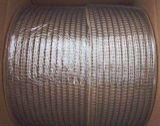 """Cable de encuadernación de anillo gemelo para 1/4 """"34loops negro"""