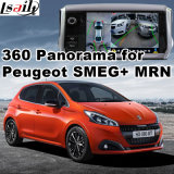 Peugeot 208のための背面図及び360パノラマインターフェイスSmeg+ MrnシステムLvds RGBシグナル入力鋳造物スクリーンとの308 508 2008年