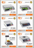 Escala computacional de Digitaces del precio electrónico de la plataforma con uso del ordenador del cable RS232