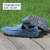 Новый стиль для мужчин пробуксовки колес на чартерных Canvas обувь Настроить оптового (МБ1030)
