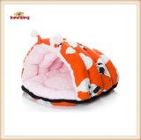 귀여운 암소 패턴 모충 유형 고양이 침대 & 집