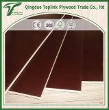 17 /18mm Brown barato y madera contrachapada Shuttering hecha frente película negra para la construcción de Linyi