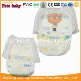 중국 의 기저귀 높은 쪽으로 아기에 있는 바지 기저귀 공장을 당기십시오