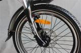 """E-Bici piegante nera della batteria di litio del blocco per grafici di 20 """" serie (JSL039XB)"""