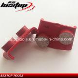 Этапы кнопки HTC 2 меля инструменты для бетона и полировать Terazzo