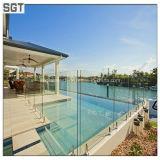 spessore libero del vetro temperato di 12mm per la recinzione della piscina