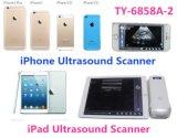 Sonda de escáner de ultrasonido lineal / convexo para Apple Ios Android Phone