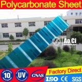 Corrugated лист крыши поликарбоната для плавательного бассеина