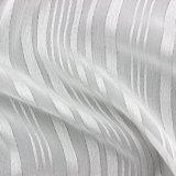 Tessuto a strisce del poliestere di lustro metallico per l'indumento in estate