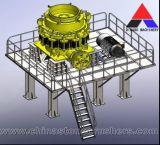 Составная коническая дробилка, новый Н тип коническая дробилка смеси гидровлическая