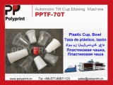 Machine automatique de fabrication de tasses en plastique (PPTF-70T)