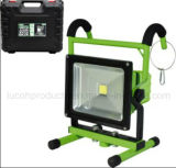 LED rechargeable lumineux de sécurité Projecteur sécuritaire d'urgence