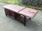 Estacionaria de madera Mesa de masajes-Strong, CE