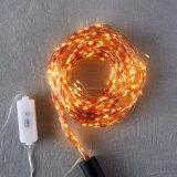 Chutes d'eau de fées cordes légères lumières de Noël LED Dew Drop pour Accueil Décorations