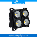 4PCS 100W de alto brillo COB LED audiencia Blinder Luz