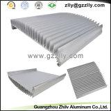 Het Aluminium Heatsink van Guangzhou van Building&Construction/Uitdrijving