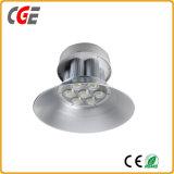 Aluminiumkabinendach des LED-hohes Bucht-Licht-industrielles Licht-150W 200W mit Cer RoHS energiesparender Lampen-Abwechslungs-Lager-Supermarkt-Stall-Qualität