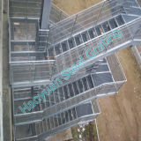 Verschiedene Anwendungen kratzender Treppen-Schritt-Stahlserien sechs