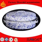 Esmalte Médio Oval Roaster Kitchenware Appliance Cook