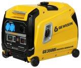 генератор инвертора цифров газолина 3kw/нефти напольный портативный