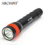 Archon G6 pile sèche Cheap Super LED lumineux lampe torche en aluminium classique de plongée puissante torche lumière Plongée