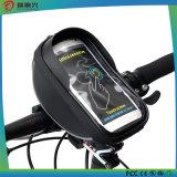 5,5 polegadas impermeável tela de tela de tela guiador de bicicleta Front Basket Phone Bag