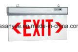 Lâmpada de saída de emergência com certificados TUV e FCC