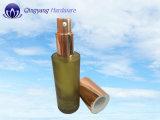 Goldener Aluminium-Großhandelsplastikäußere Deckel-Schutzkappen für Lotion-Glasflaschen