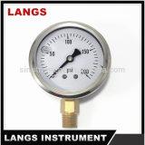 055 petróleo - calibrador de presión llenado