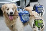 Zaino registrabile del Saddlebag di corsa dell'elemento portante dello zaino del cane di animale domestico per i cani medi & grandi che fanno un'escursione addestramento accessorio di campeggio dell'animale domestico esterno impermeabile