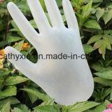 Gants remplaçables libres en poudre de vinyle d'utilisation de Medcial, gants de PVC