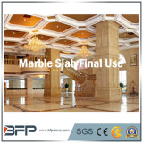 Laje de mármore de ouro para pisos do hotel ou na parede Material de Construção