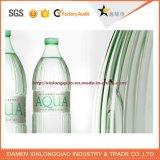 Etiquetas decorativas da etiqueta do vinil adesivo para frascos plásticos