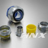 Hnxの液体の堅く適用範囲が広いコンジットのコネクターの金属のホースフィッティングのまっすぐなタイプ