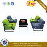 Sofa de cuir véritable de salle de séjour (HX-CS039)