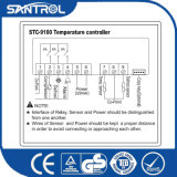 La réfrigération de l'affichage à cristaux liquides PID partie le contrôleur de température Stc-9100