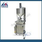 Fgjの半自動空気の小規模のクリームかLlotionまたは液体の充填機
