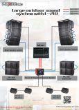 Zeile Reihen-volle Frequenz + Subwoofer Zeile Lautsprecher-im FreienTonanlage