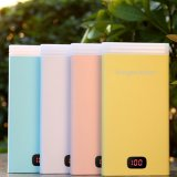 10000 Portable Charger Power Bank LED Light com Display Digal