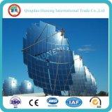 Hohes reflektierendes niedriges Eisen-Solar Energy silberner Solarspiegel