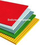 FRP/GRP에 의하여 주조되는 격자판 또는 섬유유리 격자판