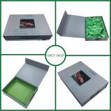 Caixa de cartão grande da jóia com inserção