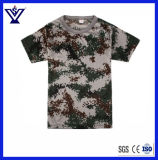 Le Camouflage 100% Coton T-Shirt à manches courtes/tactique uniforme Shirt (SYSG-655)