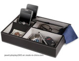 Телефон бумажника отсека держателя коробки подноса слуги устроителя ювелирных изделий