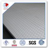 8mmx1.5mx3M SS304 Plaque à damier en acier inoxydable