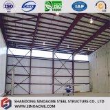 Atelier en acier préfabriqué de construction avec les étages multi